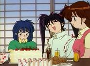 Akira's birthday cake stare anime