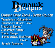 Zenki battle raiden dynamic designs intro