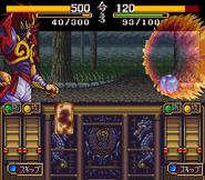 Zenki fighting a Karuma Beast Tenchi Meidou