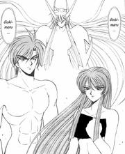 Akira's parents and the Ancient Goki