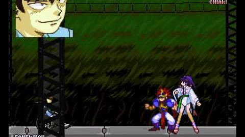 Kishin Douji Zenki FX - Vajura Fight (PCFX) - Co-Op Netplay - Vizzed.com Play