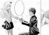Romio propose to Juliet