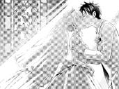 Romio kissing Juliet
