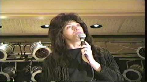 KISS Convention - Q & A With Vinnie Vincent KISS Tribute Band - Seekonk, MA. - November 20, 1994