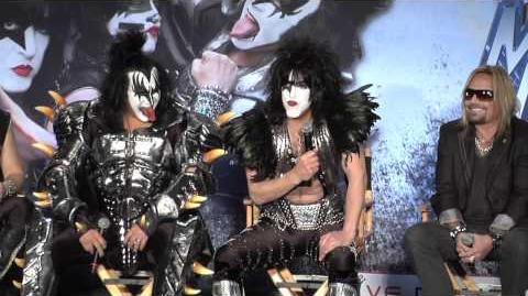 KISS & Motley Crue The Tour Press Conference