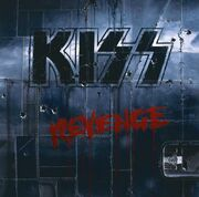 Kiss revenge cover