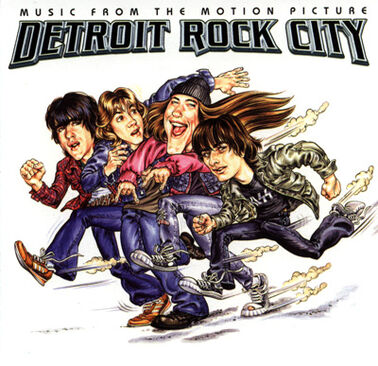 Detroit Rock City (film) Soundtrack cover