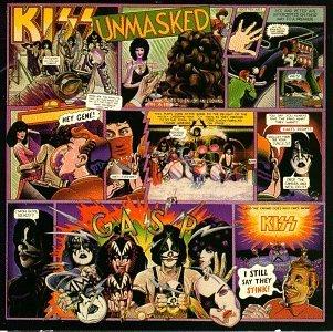 Kiss Unmasked Album Cover