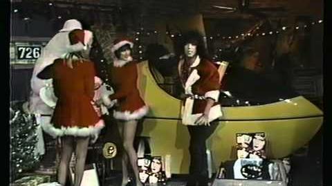 KISS Paul Stanley Christmas Santa VJ 1985
