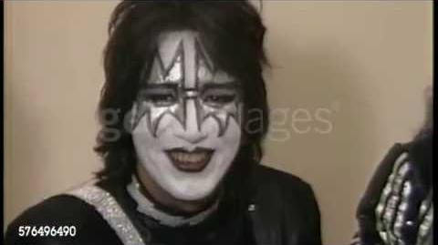 KISS Rare Creatures Interview with Ace! MTV 1982