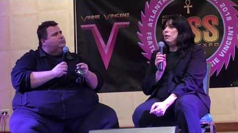 Vinnie Vincent Complete Interview - Atlanta KISS Expo 2018