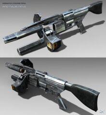 Http th04 deviantart net fs36 300W f 2008 261 3 2 Overwatch Pulse Rifle Textured by SgtHK