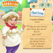 Chef crisp