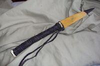 Cherokee bone knife angle 2 by lowbrass tetsusaiga-d41359m
