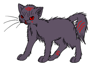 EvilLonghaired Warrior Lineart by WildpathOfShadowClan