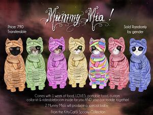KittyCatS! Spooky Collection - Mummy Mia!