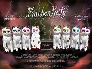 KittyCatS! Spooky Collection - FrankenKitty