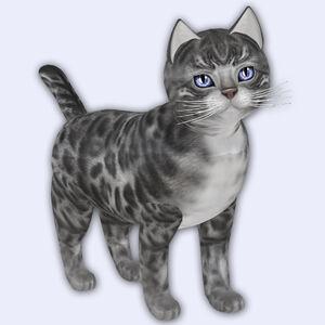 Bengal Silver - Gerbera Blue Eyes - Porcelain Shade