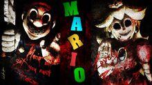 Creepy Mario and Peach