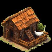Sw chicken coop last