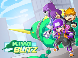 Kiwi Blitz Wallpaper by ShikakuSuika