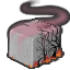 Loc haunted cement collectable doober