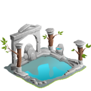 Soaking pool pillars premium last