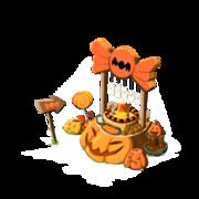 Halloween treats last