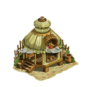Yurt house last