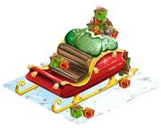 Santas sleigh last