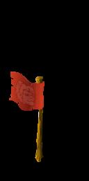 Flag lion last