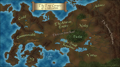The kingkiller chronicles map by xxtayce-d659pmf