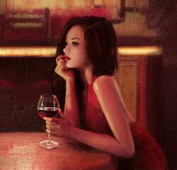 """""""Red Wine"""" por Mandy Jurgens"""