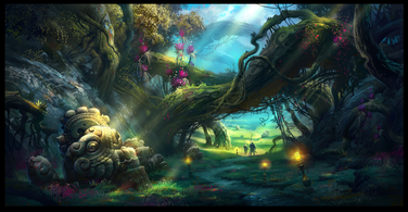Magic forest 2 by ivany86-d5cl0xq
