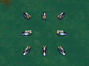 KKnD2 Ingame Hover Buggy