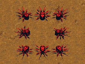KKnD Ingame Giant Beetle