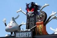 Demented Hershey's Mascot