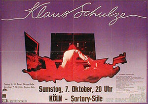 1978-10-07 Satori Säle, Cologne, Germany