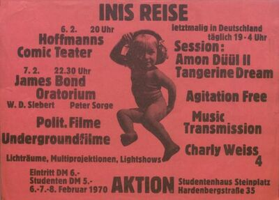 1970-02-06 Festival Inis Reise, Alte Mensa der TU, Berlin, Germany