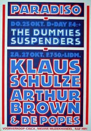 1979-10-27 Paradiso, Amsterdam, Netherlands1