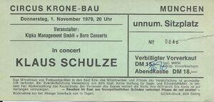 1979-11-01 Zirkus Krone, München, Germany1