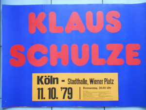 1979-10-11 Stadthalle, Cologne, Germany