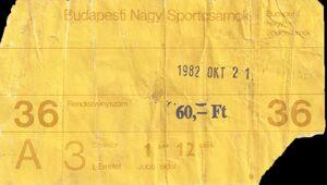 1982-10-21 Sportsczarnoc, Budapest, Hungary