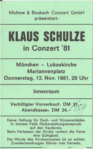 1981-11-12 St. Lukaskirche, München, Germany