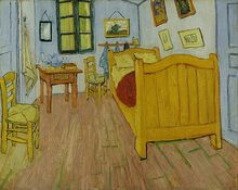 520px-Vincent van Gogh - De slaapkamer - Google Art Project