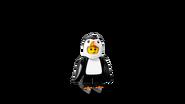 Chłopiec-pingwin