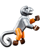 Złośliwa małpa figurka