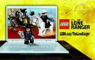 Disney The Lone Ranger strona LEGO