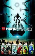 Hero Factory plakat z 8093