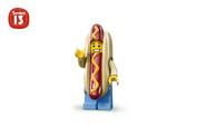 Człowiek hot-dog